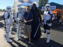 Matt made new friends at Crane-Con