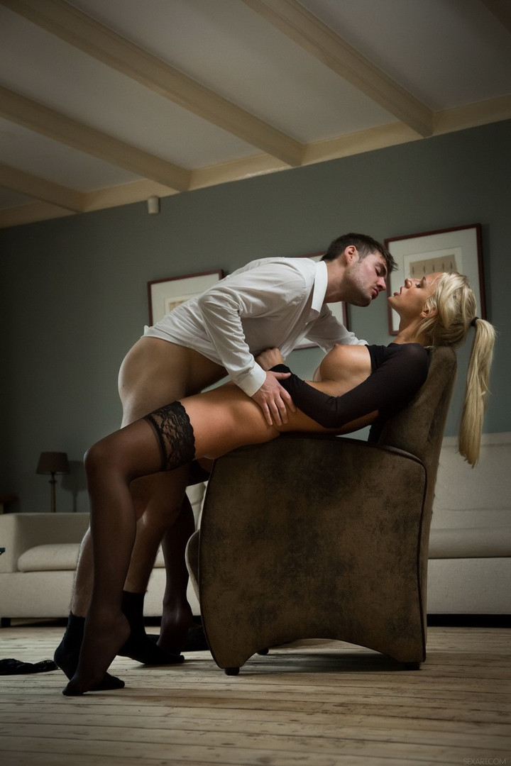 hot dominant escort couple Chelsey and Selo