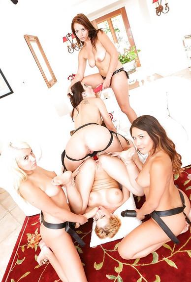 Quintet Escort Girls Victoria, Tania, Annet, Kallista and Gaby