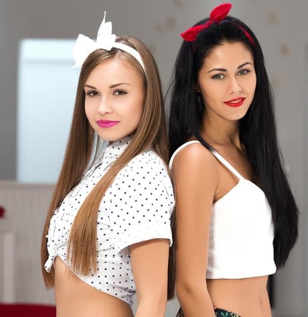 Çift Cinsel İkili Escort Bayan Angel ve Pamela