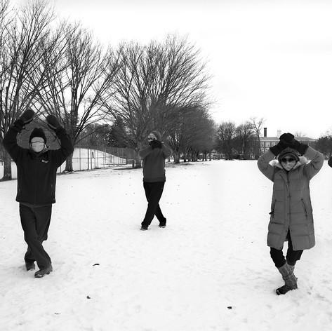 Tai Chi in Snow