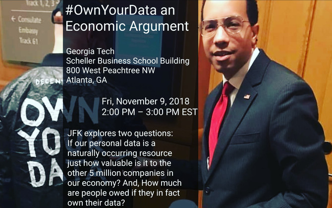 #OwnYourData Lecture at Georgia Tech