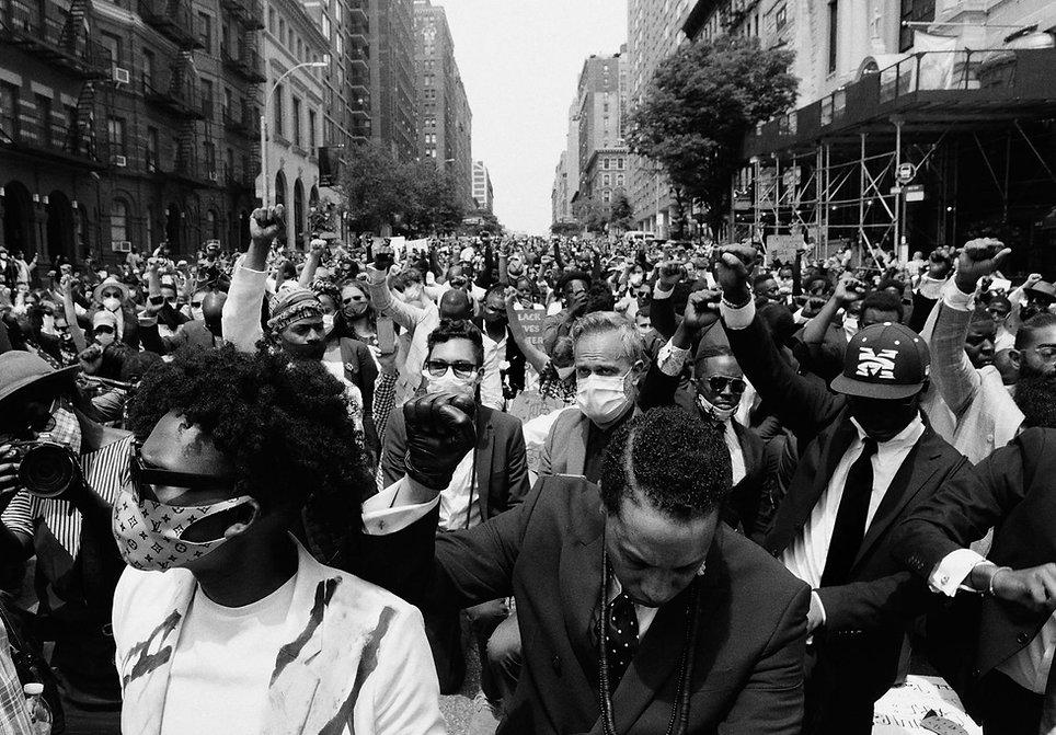 JFK at Black Lives March Harlem June 4th