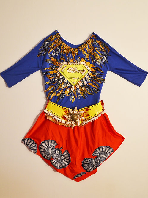 #SUPER GIRL - CLOTHING AND PROPS