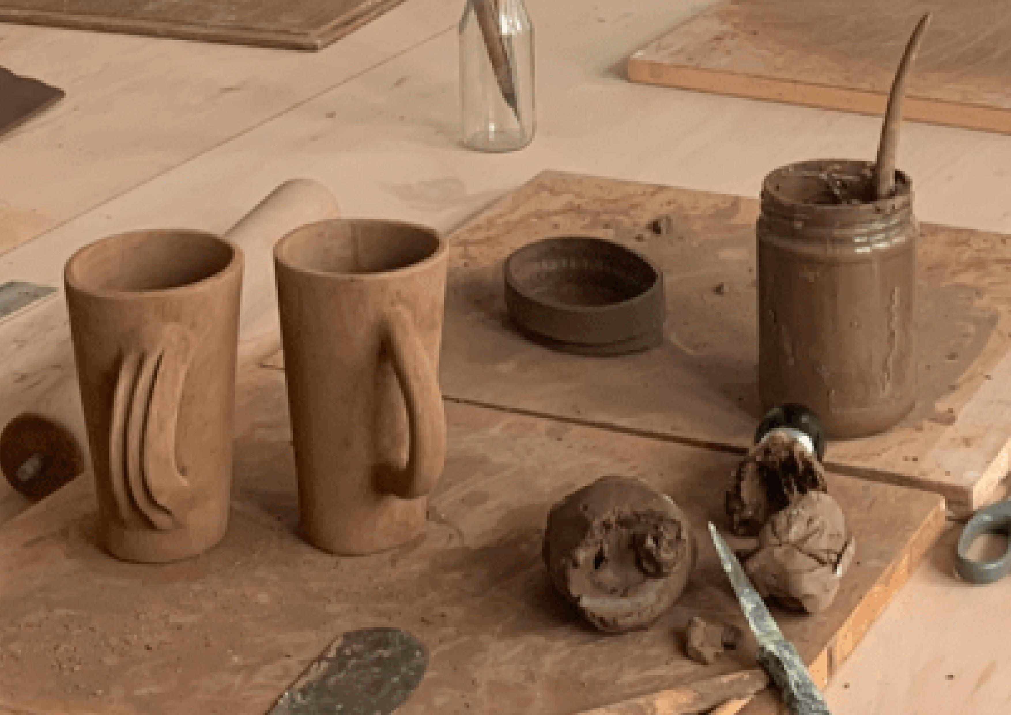 Atelier Céramique - modelage à la main
