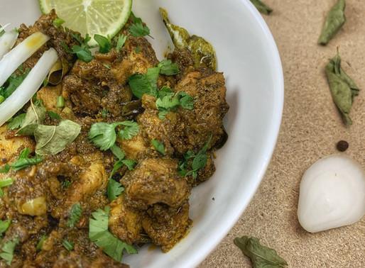 Curry Leaf Pepper Chicken | Karuveppilai Pepper Chicken