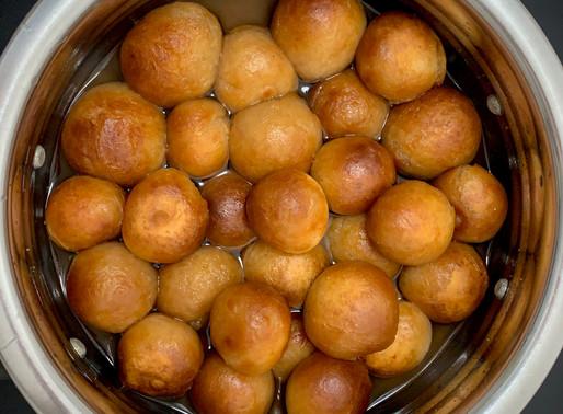 Baked Gulab Jamun (easy recipe)