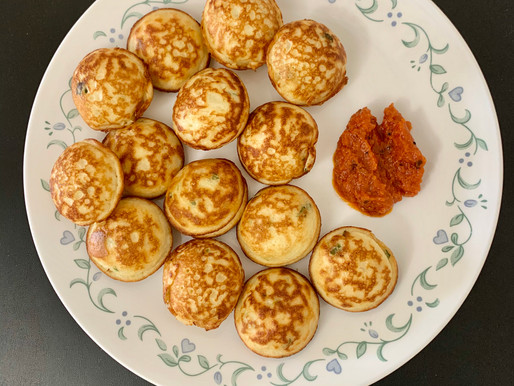 Egg / Muttai Paniyaram