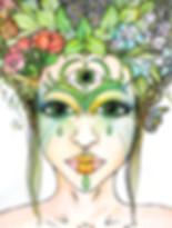Anna Marlena Art I Magische Porträts I Higher Self Portraits  higher self portraits, porträt, geschenk ideen, magische porträts, märchen, feen, besondere geschenke, portrait art, visionary art, jugenstil