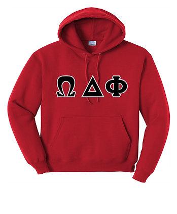 Omega Delta Phi Red Hoody