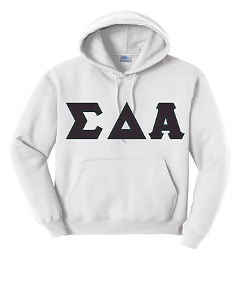 Sigma Delta Alpha White Hoody
