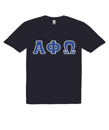 Alpha Phi Omega Black T-Shirt