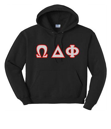 Omega Delta Phi Black Hoody