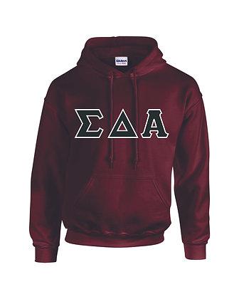 Sigma Delta Alpha Maroon Hoody