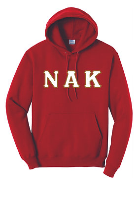 Nu Alpha Kappa Red Hoody