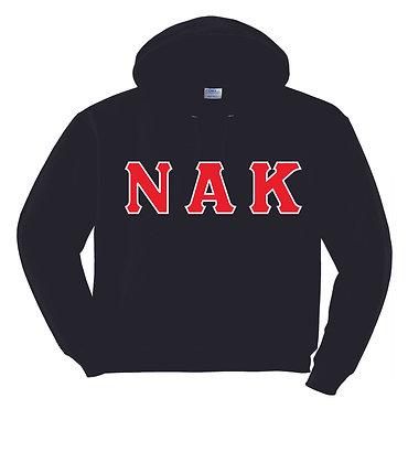 Nu Alpha Kappa Black Pullover Hoody