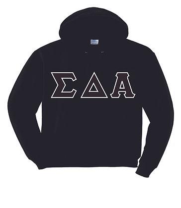 Sigma Delta Alpha Black Hoody