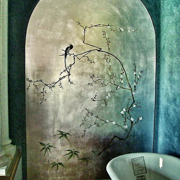 Bathroom decoration by Alice Lenaz