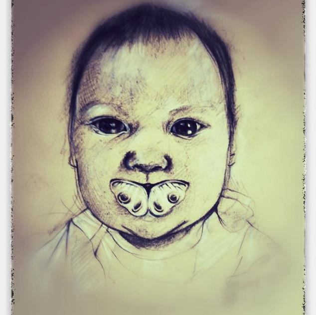 Portret van baby