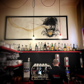 Painting for Bar Veneto (genk) by Alice Lenaz