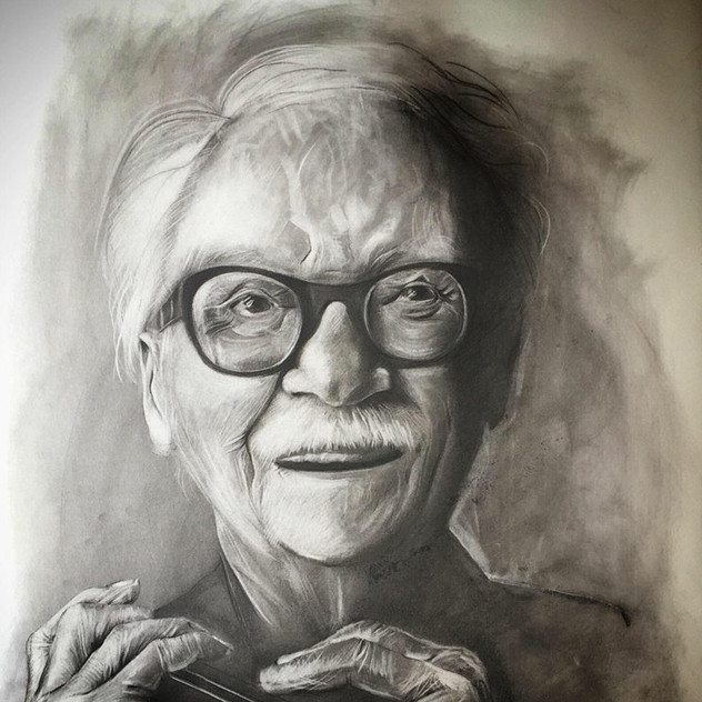 """ Toots Thielemans "" by Alice Lenaz"
