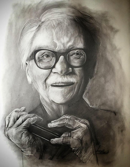 Toots Thielemans by Alice Lenaz