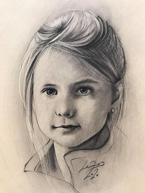 Portrait inblack/white A3