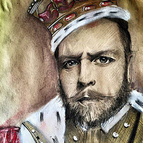 """ Historical Portrait "" by Alice Lenaz"