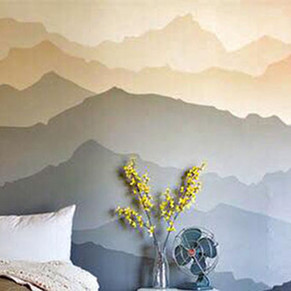 Bedroom wall decoration by Alice Lenaz