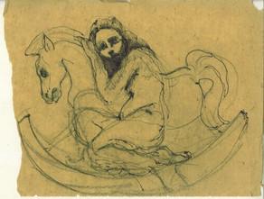 Bozzetto Cavallo a Dondolo by Alice Lenaz