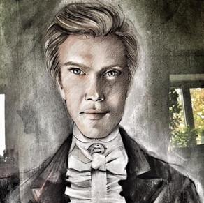 """ Historical Portrait "" (Debussy Style) by Alice Lenaz"