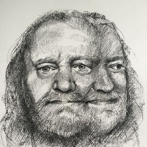 """"""" Portrait of Gaston Wuestenbergs """" by Alice"""