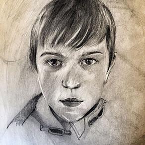 """"""" Children`s Portrait """" by Alice Lenaz"""
