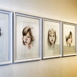 Growing Faces at doctor`s practice by Al