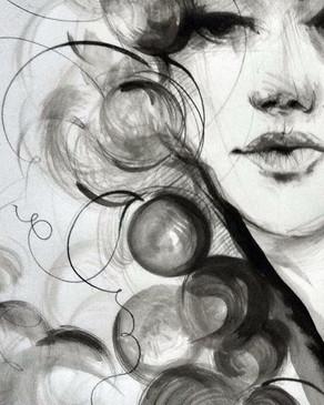 White wine by Alice Lenaz