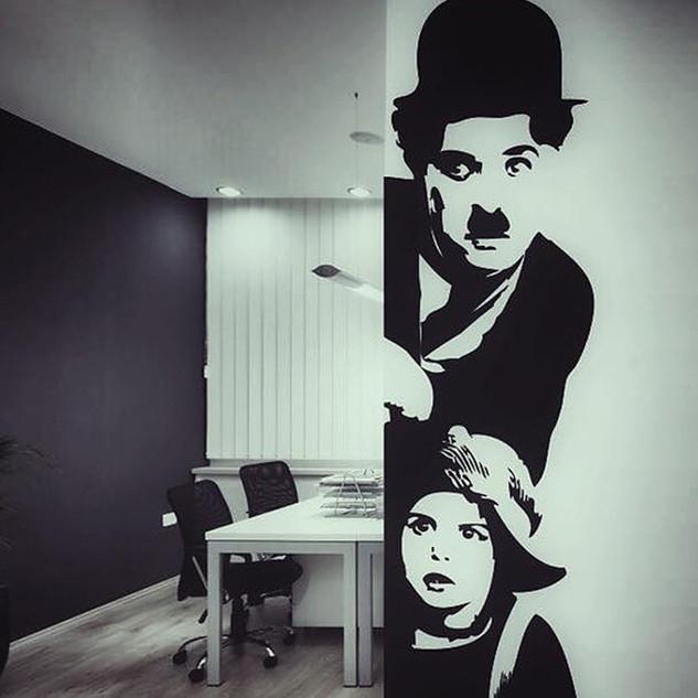 Office decoration by Alice Lenaz