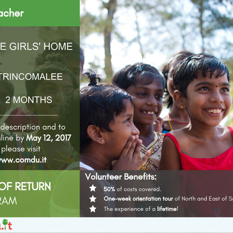 Partnership with comdu.it offers volunteer opportunities at Grace Girls' Home