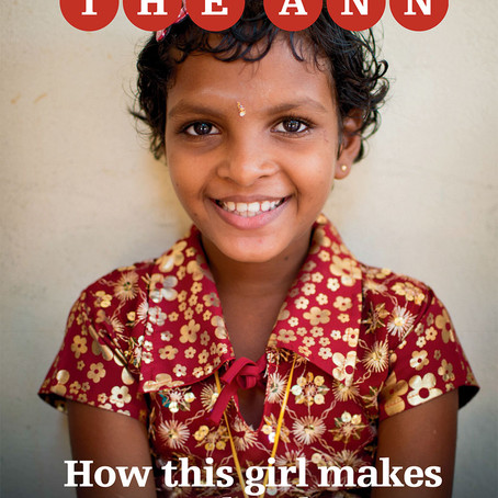 The Ann Magazine devotes entire issue to The Grace Girls' Home!