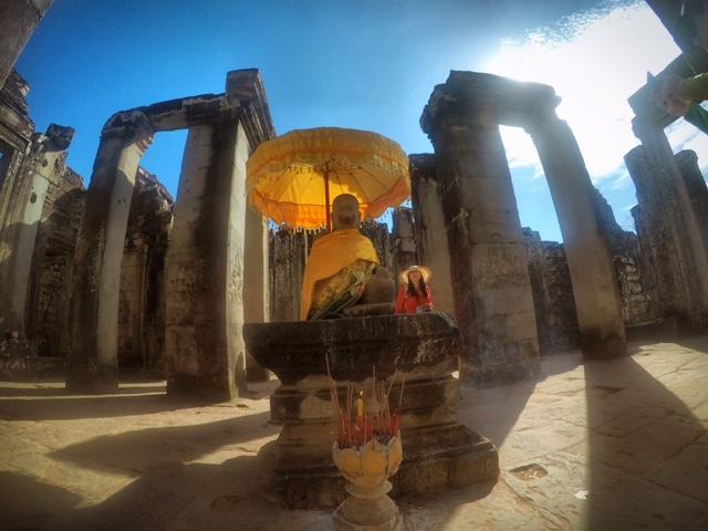 Eingang zum Tempel Baron