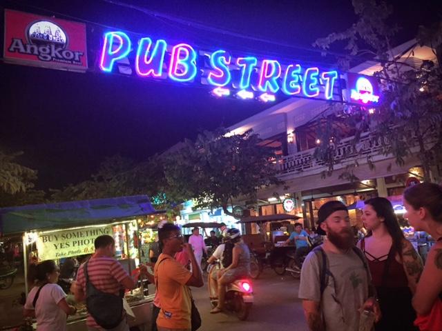 Pup Street @Siem Reap