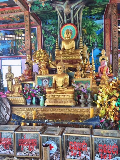 Tempel in Koh Chen