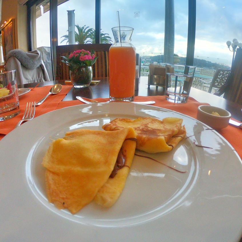 Pancake dream at Laledan Restaurant