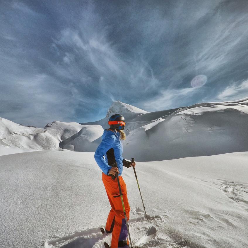 Traumhafte Landschaft am Arlberg