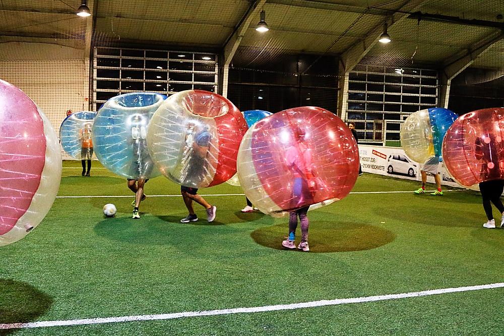 Bubble soccer by Jochen Schweizer
