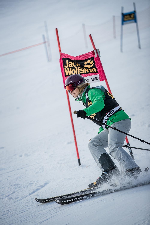 Cloodi in Action auf der Slalomstrecke I Photocredit: Hansi Heckmair