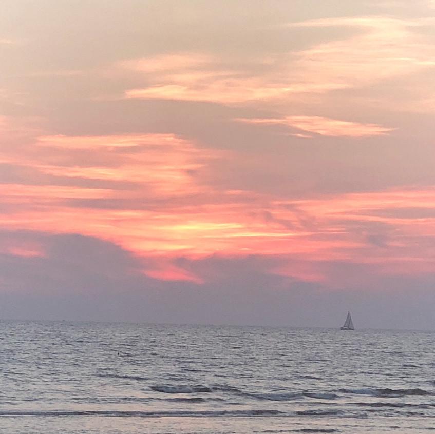 Sonnenuntergang Lillatro Beach