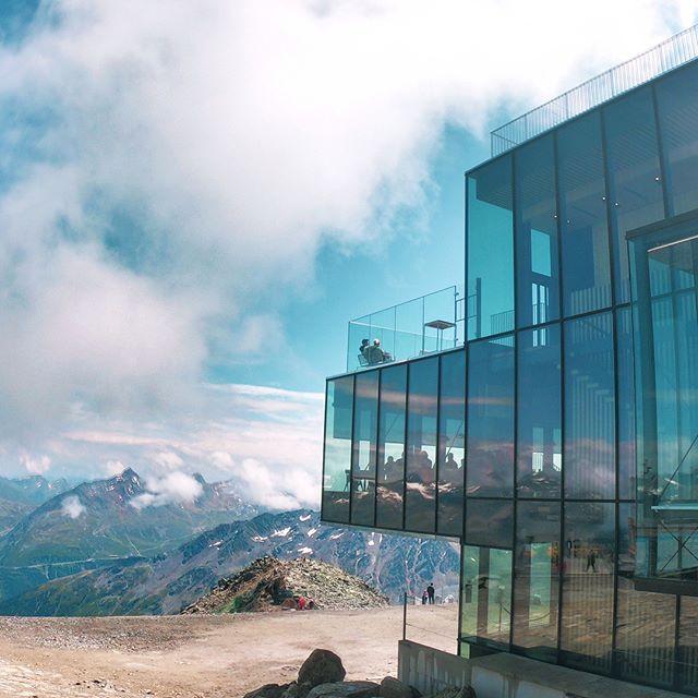 ICE-Q Restaurant auf 3048 m im Ötztal