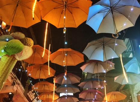 Pub Street @Siem Reap - Oktoberfest war gestern..:-)