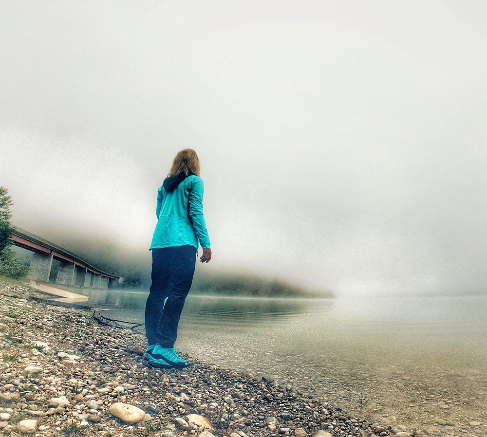 Einstichstelle für Stand Up Paddeling am Sylvensteinsee