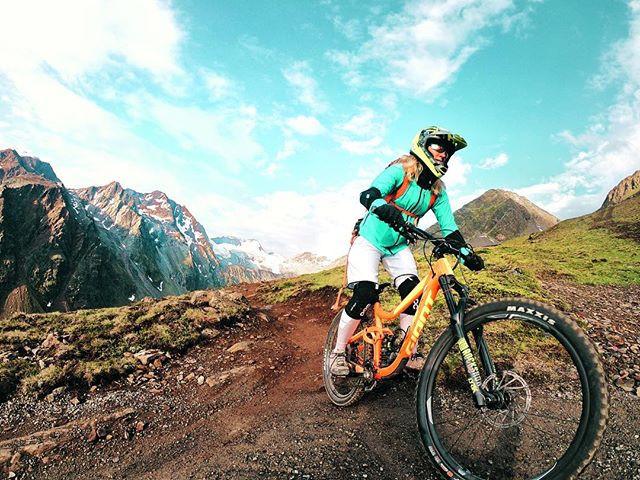 Downhill MTB Ride in Sölden, Ötztal